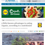 Lidl is now offering a range of organic food products.